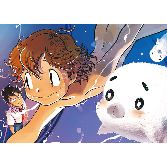 大人気コミック『青少年アシベ』の可愛いアクリルキーホルダーがとらのあな一部店舗にて取り扱い決定です!