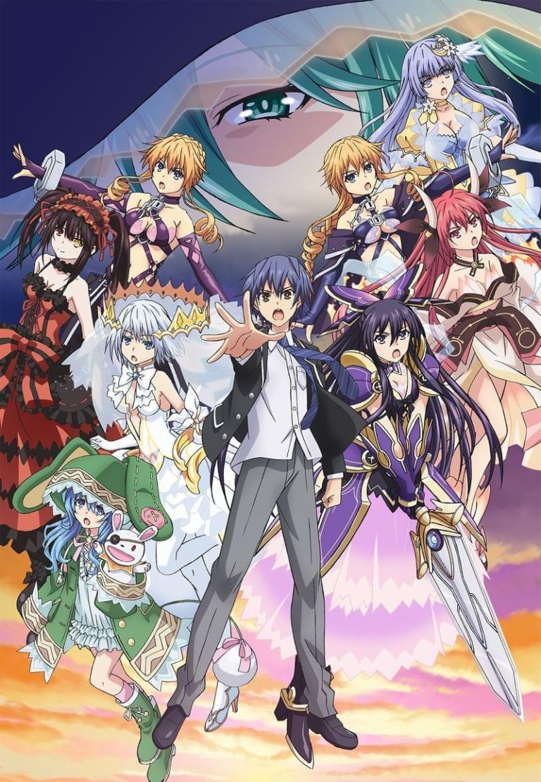 TVアニメ『デート・ア・ライブ DATE A LIVEⅢ』にて(Blu-ray/DVD)とらのあな限定版が発売決定!!
