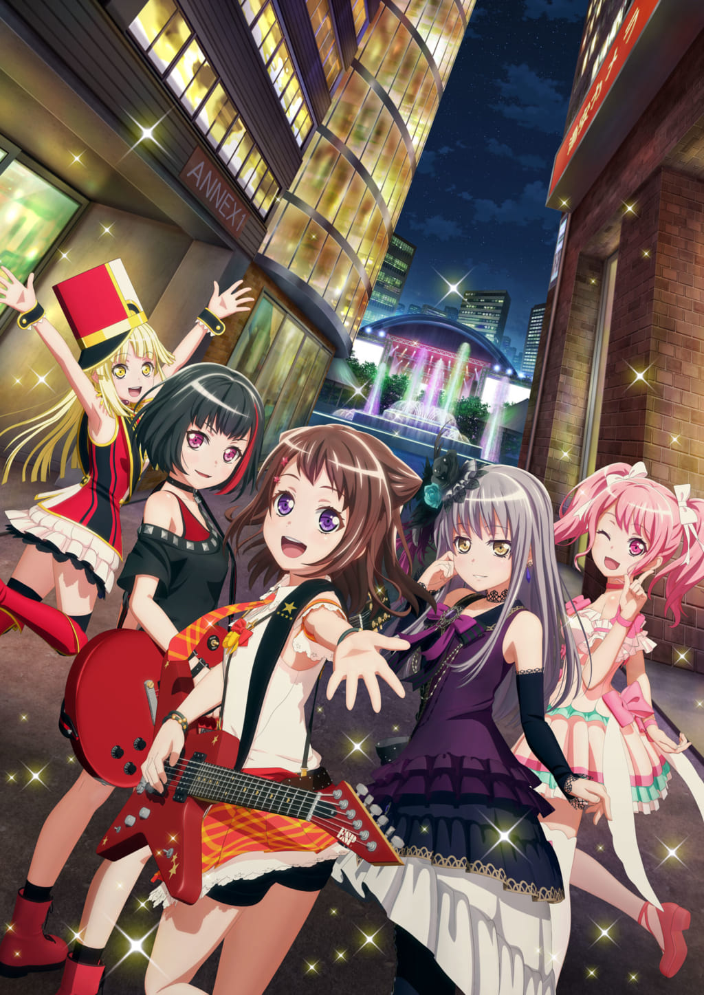 アニメ「BanG Dream! 2nd Season」CD6タイトル連続リリースラストスパートキャンペーン in とらのあな開催!