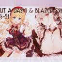 【CUT A DASH!! & BRAZER ONE – No.2】とら祭り「クリエイターA0パネル」チャリティーオークション