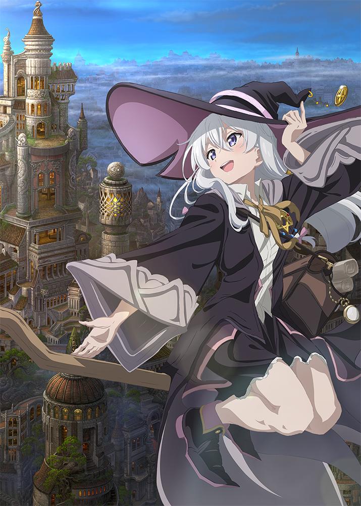 TVアニメ『魔女の旅々 上巻』(Blu-ray/DVD)発売決定!! 特典・フェア情報公開中です!