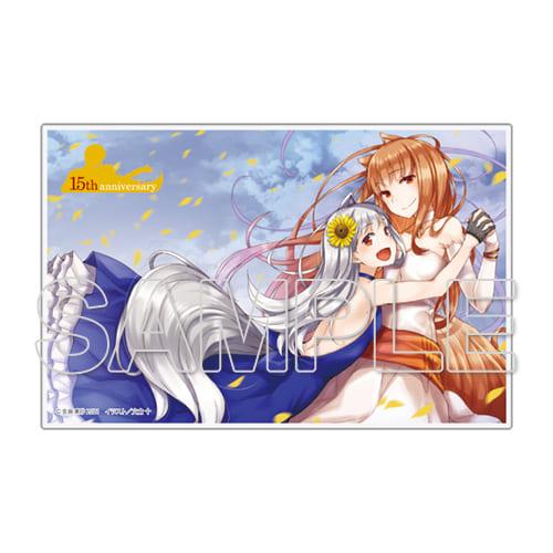 電撃文庫の大ヒット作品「狼と香辛料XXIII Spring LogⅥ 」が9月10日に発売! とらのあなでは発売を記念して「アクリルプレート」付きの限定セットを発売いたします!