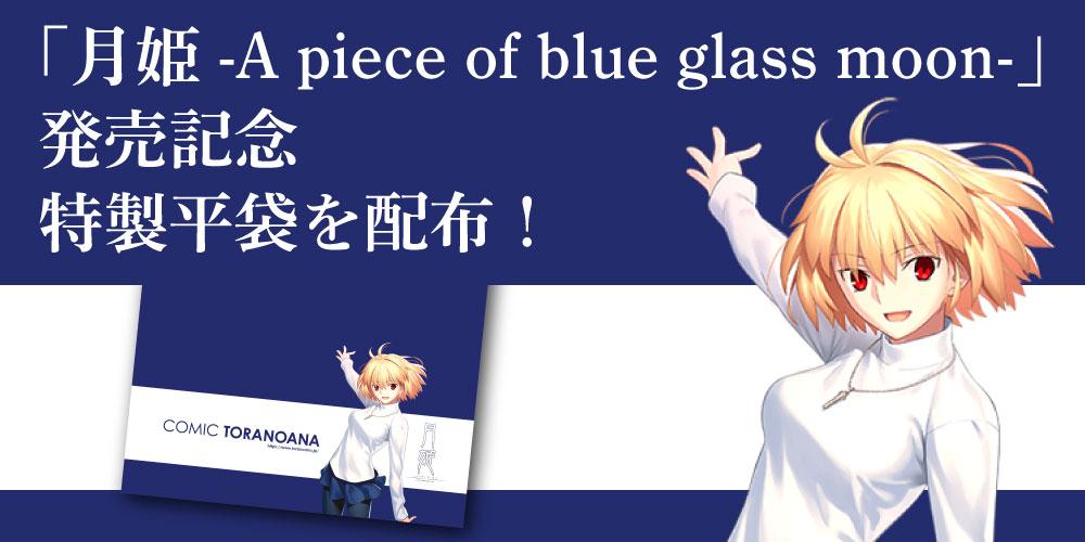 「月姫 -A piece of blue glass moon-」 発売記念 特製平袋を配布します!